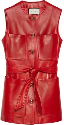 Gucci Plonge patch-pocket vest