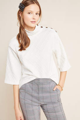Sunday In Brooklyn Mollie Button-Shoulder Top