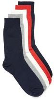 Topman Men's Textured Crew Socks