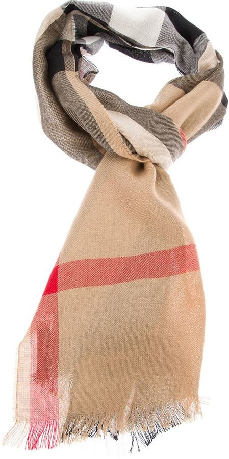 Burberry 'House' check scarf