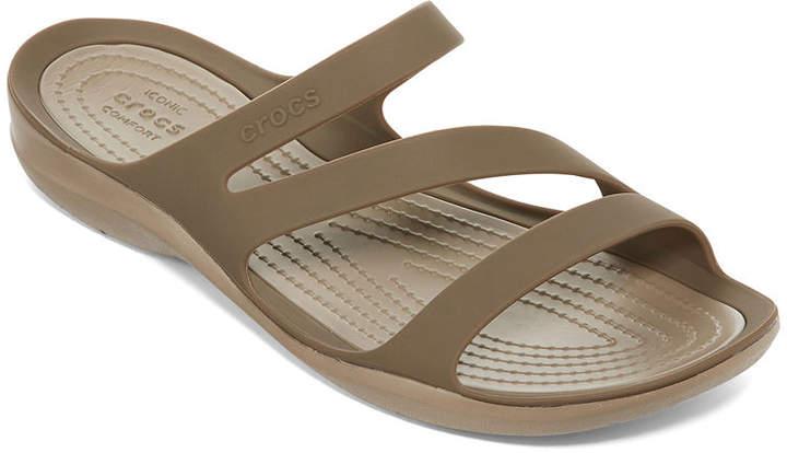 fd03957efac84 Crocs Slide Women's Sandals - ShopStyle