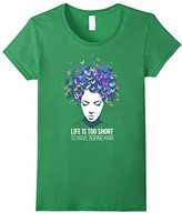Kids Hair - Life is too short to have boring hair T-shirt 6
