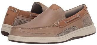 Dockers Tiller (Taupe Crazy Horse) Men's Slip on Shoes