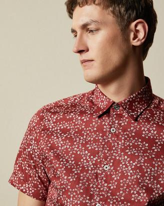 Ted Baker YEPYEP Cotton floral shirt