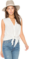 Joie Edalette Button Down Tank