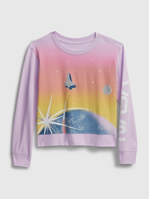 GapKids | NASA Graphic Crewneck Sweatshirt