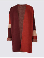 M&S Collection Colour Block Cardigan