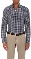 Piattelli MEN'S CHECKED COTTON SHIRT