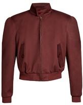 Balenciaga Harrington Cotton-blend Cropped Jacket