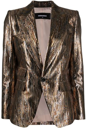 DSQUARED2 Los Angeles jacquard blazer