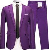 INFLATION Men's blazer a button suit 2 pieces suit + pants for working /wedding/party