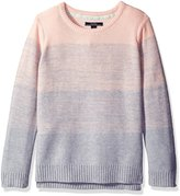 Nautica Little Girls Ombre Stripe Sweater