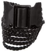 Ralph Lauren Woven Leather Belt