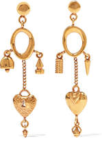 Chloé Gold-tone Earrings - one size
