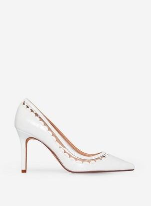 Dorothy Perkins Womens White 'Eliza' Court Shoes, White