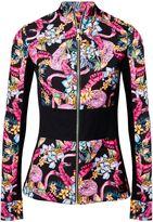 Matthew Williamson Flamingo Print Track Top Jacket