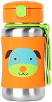 Skip Hop Zoo Stainless Steel Straw Bottle - Butterfly - 12 oz