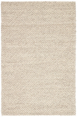 Jaipur Living Alta Handmade Solid Gray/White Area Rug, 8'x10'