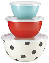 Kate Spade All in Good Taste Serve & Store Bowls, Set of 3