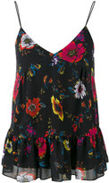 McQ by Alexander McQueen floral patterned camisole top - women - Polyester - 40