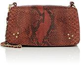 Jerome Dreyfuss Women's Bobi Python Shoulder Bag-BROWN