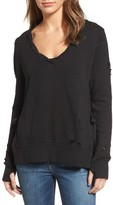 Pam & Gela Women's Side Slit Sweatshirt