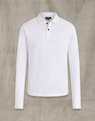 Belstaff LONG SLEEVED POLO White