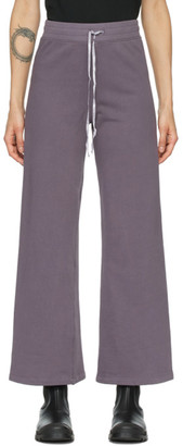 Raquel Allegra Purple Tracker Lounge Pants