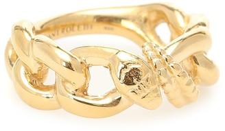 Alan Crocetti Nashash gold-vermeil ring