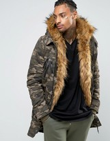 Sixth June Parka With Faux Fur Hood And Lining