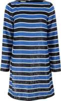 Michael Kors Stripe Sequined Dress
