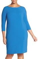 Tahari by Arthur S. Levine Plus Size Women's Seamed A-Line Dress
