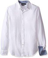 Nautica Men's Slim Fit Cotton Dobby Shirt