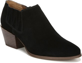 Franco Sarto Leather Western Influence Booties- Dylann