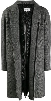 Maison Margiela Herringbone Coat