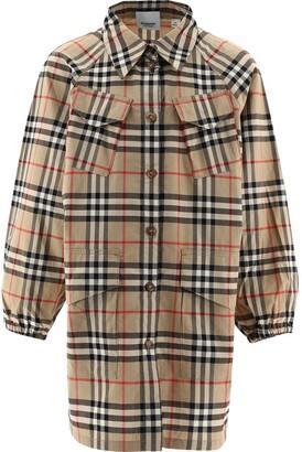 Burberry Children Vintage Check Shirt Dress