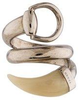 Gucci Horsebit Contraire Ring