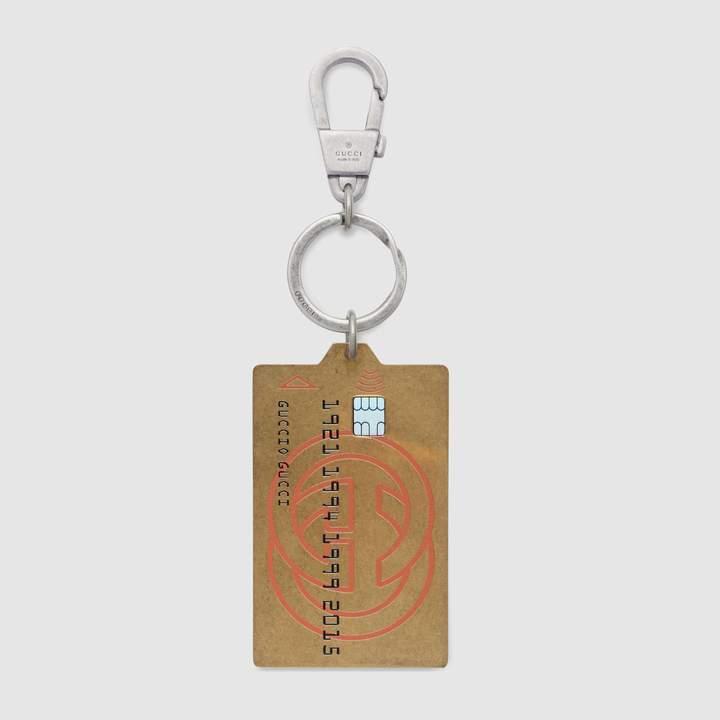 Gucci credit card keychain