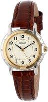 Seiko Women's SXGA02 Leather Strap Watch