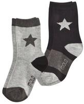 Molo Grey Melange Nitis Socks