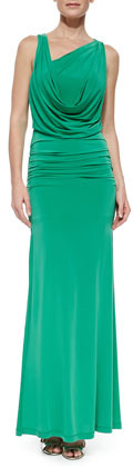 BCBGMAXAZRIA Nicole Open-Back Dress