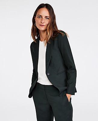 Ann Taylor The Tall Shawl Collar Blazer