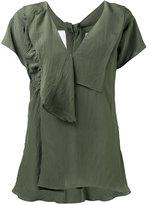 Marni self-tie neck blouse - women - Viscose - 40