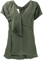 Marni self-tie neck blouse