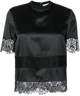 Givenchy lace embroidered blouse