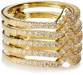 Noir Jolies Stackable Hinge Ring