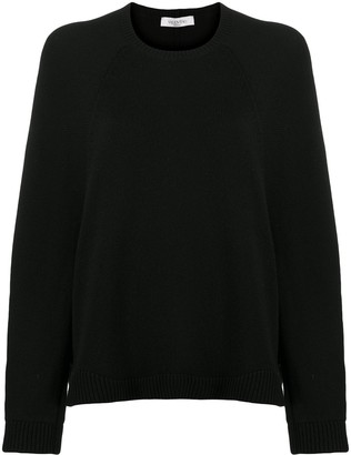 Valentino Loose-Fit Knitted Jumper