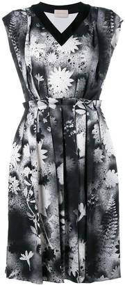 Christopher Kane Floral-Print Spray Dress