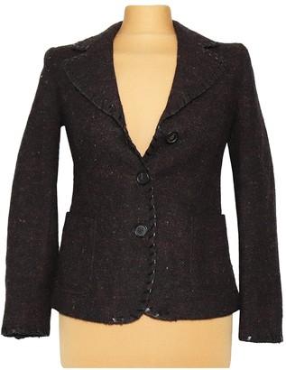 Miu Miu Brown Wool Jacket for Women