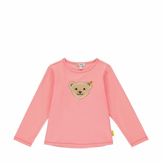 Steiff Baby Girls' T-Shirt Langarm Long Sleeve Top